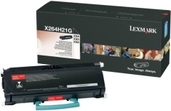Toner do tiskárny Originální toner Lexmark X264H21G (Černý)