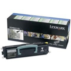 Toner do tiskárny Originální toner Lexmark X340A11G (Černý)
