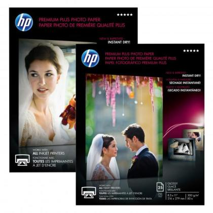 Fotopapír A3 HP Premium Plus Glossy, 20 listů, 300 g/m2, lesklý (CR675A)