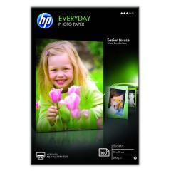 Fotopapír 10x15cm HP Everyday Glossy, 100 listů, 200 g/m2, lesklý (CR757A)