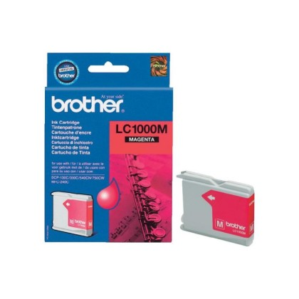 Originální cartridge Brother LC-1000M (Purpurová)