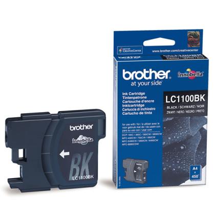 Originální cartridge Brother LC-1100BK (Černá)