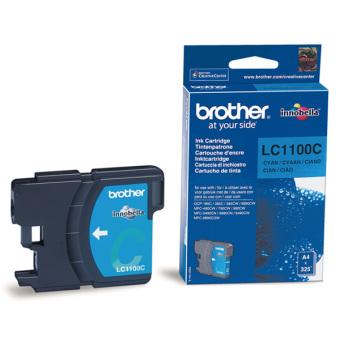 Originální cartridge Brother LC-1100C (Azurová)