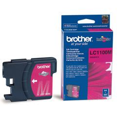Cartridge do tiskárny Originální cartridge Brother LC-1100M (Purpurová)