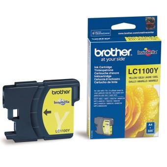 Originální cartridge Brother LC-1100Y (Žlutá)