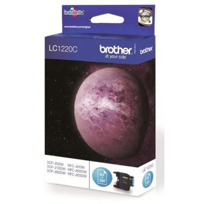 Originální cartridge Brother LC-1220C (Azurová)