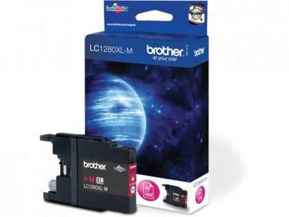 Originální cartridge Brother LC-1280M (Purpurová)