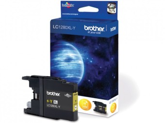 Originální cartridge Brother LC-1280Y (Žlutá)