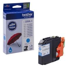 Cartridge do tiskárny Originální cartridge Brother LC-225XLC (Azurová)