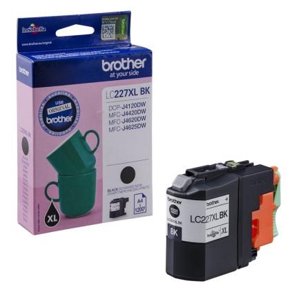 Originální cartridge Brother LC-227XLBK (Černá)