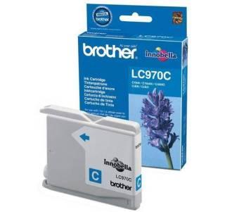 Originální cartridge Brother LC-970C (Azurová)