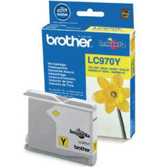 Originální cartridge Brother LC-970Y (Žlutá)