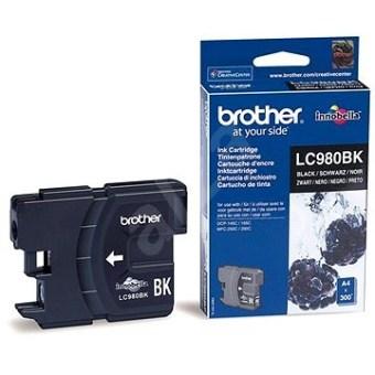 Originální cartridge Brother LC-980BK (Černá)