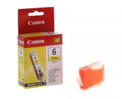 Cartridge do tiskárny Originální cartridge Canon BCI-6Y (Žlutá)