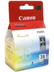 Cartridge do tiskárny Originální cartridge Canon CL-38 (Barevná)