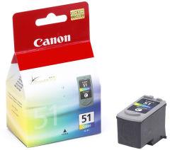 Cartridge do tiskárny Originální cartridge Canon CL-51 (Barevná)