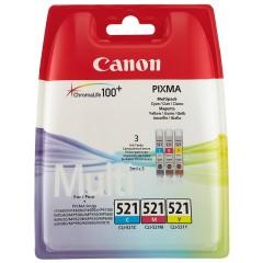 Sada originálních cartridge Canon CLI-521C/M/Y
