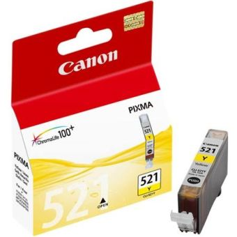 Originální cartridge Canon CLI-521Y (Žlutá)