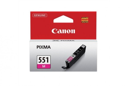 Originální cartridge Canon CLI-551M (Purpurová)