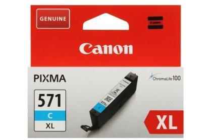 Originální cartridge Canon CLI-571C XL (Azurová)
