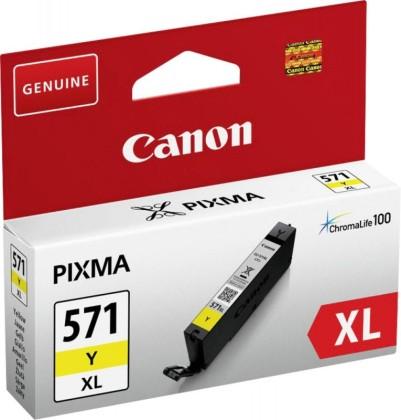 Originální cartridge Canon CLI-571Y XL (Žlutá)