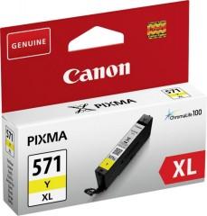 Cartridge do tiskárny Originální cartridge Canon CLI-571Y XL (Žlutá)
