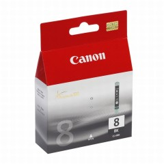 Cartridge do tiskárny Originální cartridge Canon CLI-8BK (Černá)