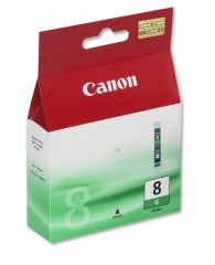 Cartridge do tiskárny Originální cartridge Canon CLI-8G (Zelená)