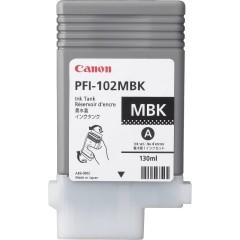 Cartridge do tiskárny Originální cartridge Canon PFI-102MBK (Matně černá)