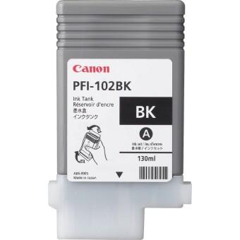 Originální cartridge Canon PFI-102BK (Černá)