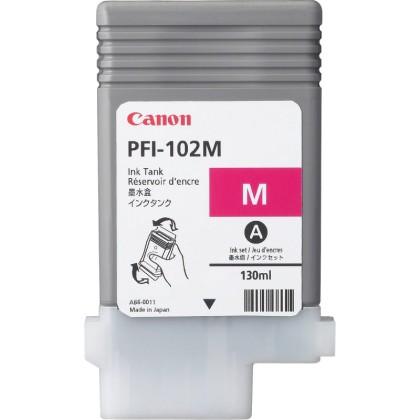 Originální cartridge Canon PFI-102M (Purpurová)