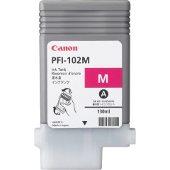 Cartridge do tiskárny Originální cartridge Canon PFI-102M (Purpurová)
