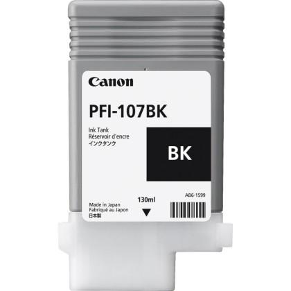 Originální cartridge Canon PFI-107BK (Černá)