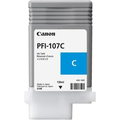 Originální cartridge Canon PFI-107C (Azurová)