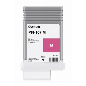 Originální cartridge Canon PFI-107M (Purpurová)
