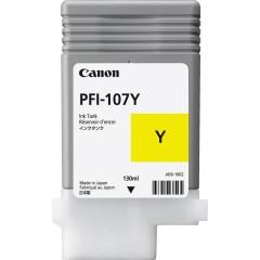 Cartridge do tiskárny Originální cartridge Canon PFI-107Y (Žlutá)