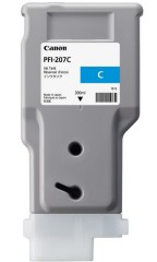 Cartridge do tiskárny Originální cartridge Canon PFI-207C (Azurová)
