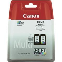 Cartridge do tiskárny Originální sada cartridge Canon PG-545/CL-546 (Černá, barevná)