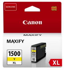 Cartridge do tiskárny Originální cartridge Canon PGI-1500Y XL (Žlutá)