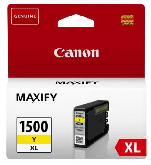 Originální cartridge Canon PGI-1500Y XL (Žlutá)