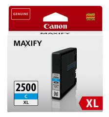 Cartridge do tiskárny Originální cartridge Canon PGI-2500C XL (Azurová)