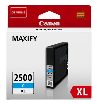 Originální cartridge Canon PGI-2500C XL (Azurová)