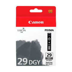 Cartridge do tiskárny Originální cartridge Canon PGI-29DGY (Tmavě  šedá)