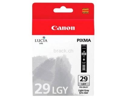 Originální cartridge Canon PGI-29LGY (Světle šedá)