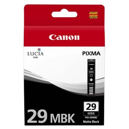 Originální cartridge Canon PGI-29MBK (Matně černá)