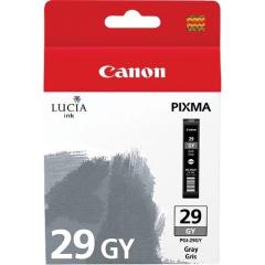Cartridge do tiskárny Originální cartridge Canon PGI-29GY (Šedá)
