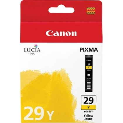 Originální cartridge Canon PGI-29Y (Žlutá)