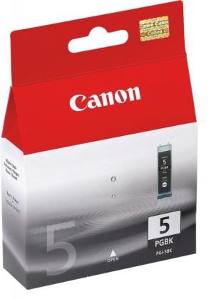 Originální cartridge Canon PGI-5BK (Černá)