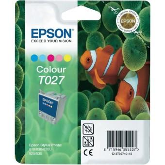 Originální cartridge EPSON T027 (Barevná)