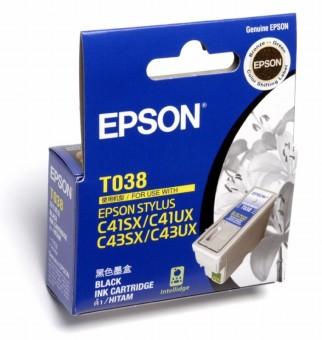 Originální cartridge EPSON T038 (Černá)